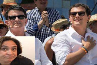 Albert Rivera se divorcia de Manuel Valls por ponerle los cuernos con Ada Colau