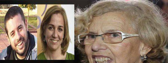 La podemita Carmena aprovecha el último minuto para dejar compuesto y con sueldo al novio de Tania Sánchez