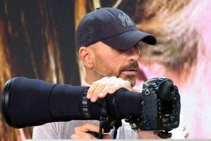 Diego Arrabal revienta la exclusiva de la boda de Belen Esteban haciendo más de 1700 fotos subido a una grúa