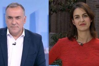 """La 'asalta capillas' Maestre, con las risas de 'El Lechero', ataca a Vox al grito de """"xenófobos"""" y el programa electoral de Abascal deja a ambos en bolas"""