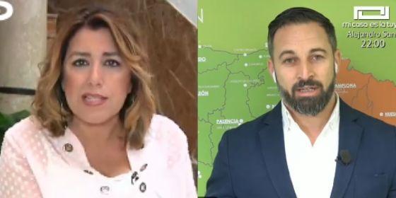 Abascal responde un trallazo a 'La Sultana' por creerse que Andalucía es suya como si fuera una separatista barata
