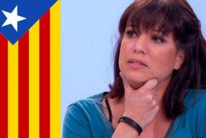 La supremacista Talegón se marca un vídeo en el que insulta gravemente a los españoles para congraciarse con la banda del lazo amarillo