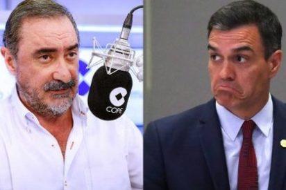 Carlos Herrera pone al 'Doctor Fraude' en su sitio y le recuerda que por su cara bonita no va a conseguir nada