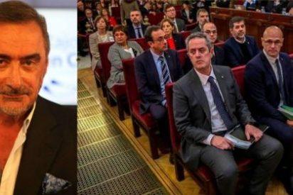 """Herrera pone los puntos sobre las íes a los golpistas y su ridículo discurso en el juicio del 1-O: """"¡Sensibleros, victimistas!"""""""