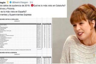La Talegón más sectaria se empeña en engañar al personal en su cruzada de insultar a los españoles