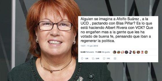 Twitter acorrala a Rosa Villacastín por su indisimulado odio a Vox
