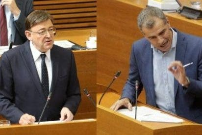 "Un brillante Toni Cantó le canta las cuarenta a Ximo Puig: ""Rompa con Sánchez"""