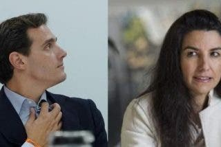 """Rocío Monasterio (VOX) acusa a Albert Rivera (CS) de escenificar un """"ridículo postureo mediático"""""""