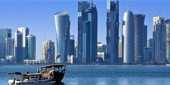 Doha, capital de Qatar.