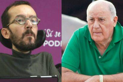¡Qué no te enteras, Pablo Echenique! El podemita insiste en llamar defraudador a Amancio Ortega y Twitter le cruje a base de bien