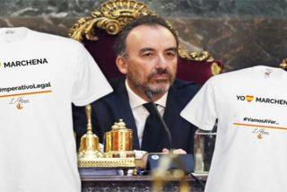 La camiseta del juez Marchena que triunfa en toda España y arrasa en Cataluña