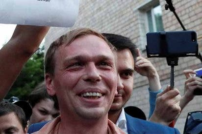 Este es Iván Golunov, el periodista que tiene de los nervios a Putin y asustado al Kremlin