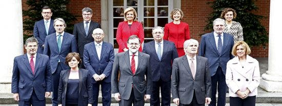 Dónde están y qué hacen los ministros del último Gobierno de Rajoy