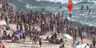 'Arrastao': Así desvalijan las bandas de ladrones a los turistas en las playas de Río de Janeiro