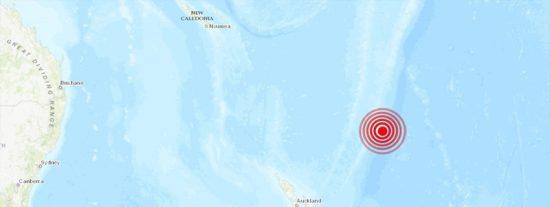 Emiten alerta de tsunami por un sismo de magnitud 7,2 en Nueva Zelanda