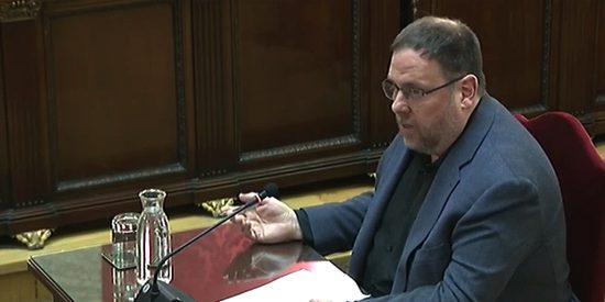 Junqueras dice que la Epístola de Santiago justifica las revoluciones