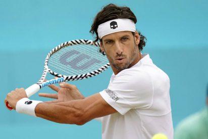 Feliciano López 'resucita' a los 37 años para derrotar a Gilles Simon y conquistar el torneo de Queen's