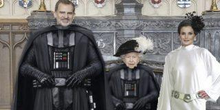 Las mejores bromas de la imagen oficial de la visita de Felipe VI y Letizia a Isabel II