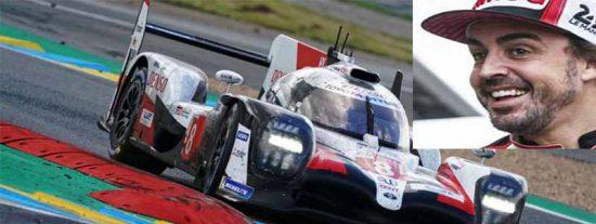 El español Fernando Alonso gana de nuevo las 24 horas de Le Mans