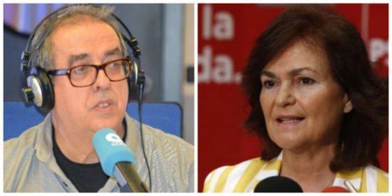 Santiago González no se corta con Carmen Calvo: