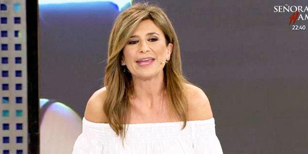 Gema López, presentadora sorpresa de 'Sálvame'