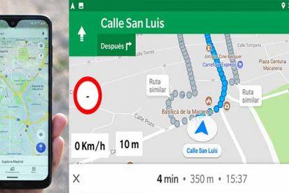 A así se activa el velocímetro de Google Maps para saber también a qué velocidad vas