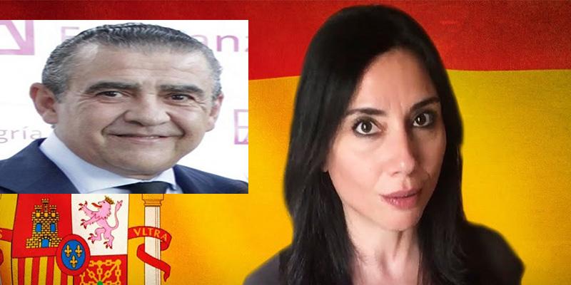 Marta Flich, la sectaria frikie antifranquista del programa de Risto, fue pareja de... ¡¡¡el nieto de Franco!!!