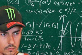 """No sabemos si el casco le presiona mucho la cabeza a Jorge Lorenzo para afirmar este disparate: """"Einstein no inventó la bombilla con veinte años sino con la edad con la que la inventó"""""""