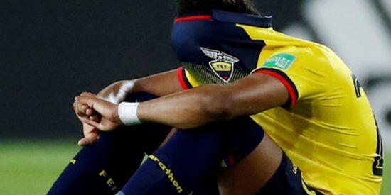 La emotiva reacción de este futbolista ecuatoriano que sorprendió a todos en el Mundial sub-20