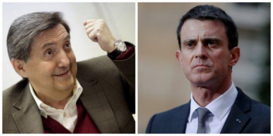 Losantos se marca una descacharrante imitación de Manuel Valls antes de pegarle la estocada definitiva