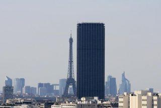 El amor en la Torre Montparnasse de París