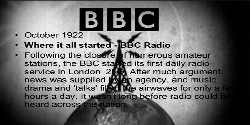 El día que la BBC informó que no había noticias
