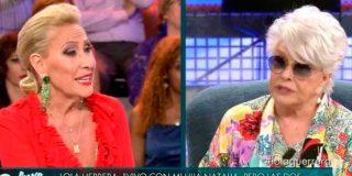 Rosa Benito causa estupor por su metedura de pata con Lola Herrera