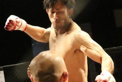 Este luchador de MMA noquea a su gigantesco rival de 160 kilos en apenas 49 segundos