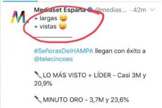El tuit más grosero de Telecinco le sale muy caro: batacazo de su gran apuesta del verano