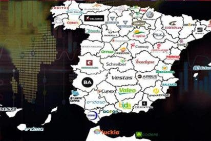 Este es el mapa de las empresas que más pasta ganan en cada provincia de nuestro país