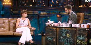 María León no se corta ante las preguntas de Broncano sobre cuanto dinero tiene y cuantas veces lo 'hace'