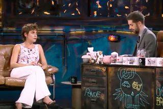 María León no se corta ante las preguntas de Broncano sobre cuanto dinero tiene y cuanto folla