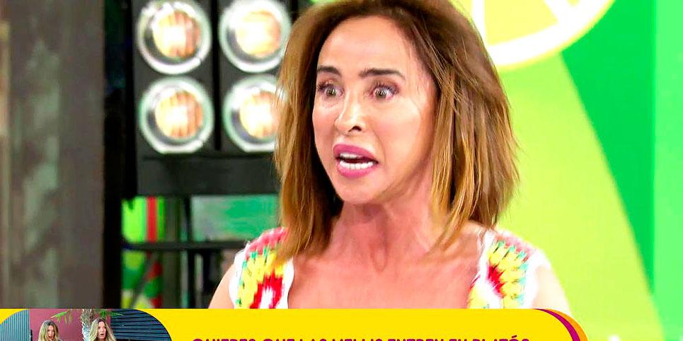 """El peor momento de María Patiño en televisión: """"Tenemos una noticia relacionada con tu novio"""""""