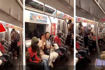"""Se pone a cantar """"'I Want It That Way"""" de los Backstreet Boys en un tren y los pasajeros terminan cantando a coro"""