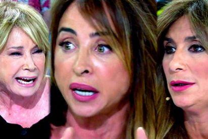 Mila Ximénez 'brota' contra la mujer de Chelo y acaba discutiendo con Patiño y Gema López