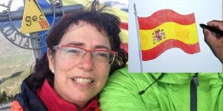 Esta es Miriam Ferrer, la profesora acusada de agredir a una niña por pintar la bandera española en clase