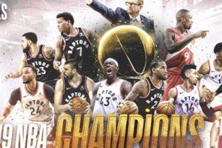 Por primera vez en la historia un equipo de Canadá gana la NBA