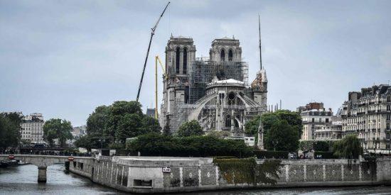 La catedral de Notre Dame de París solo ha recibido el 9% del dinero prometido