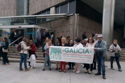 Hoy en la Coruña, concentración en apoyo de la sanidad pública y del médico Jesús Candel