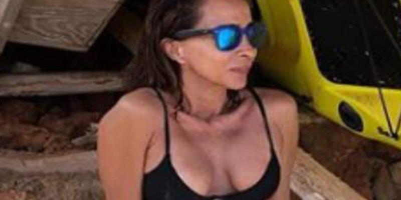 Las redes 'despellejan' a María Patiño por este espantoso posado en bikini