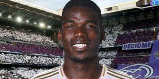 Paul Pogba ya no sabe cómo decir que está loco por jugar en el Real Madrid