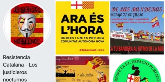 Perfil en Facebook de los tabarneses detenidos