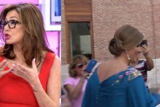 Surrealismo total: Se hacen pasar por Ana Rosa Quintana para conseguir fotos de la boda de Belén Esteban
