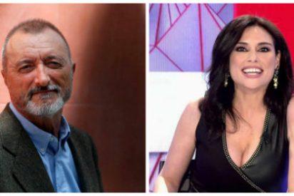 Arturo Pérez-Reverte sale a defender a Marta Flich con un 'amistoso' argumento y en Twitter le sacuden la del pulpo